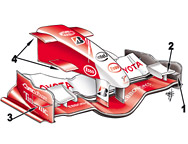 TF106 front wing